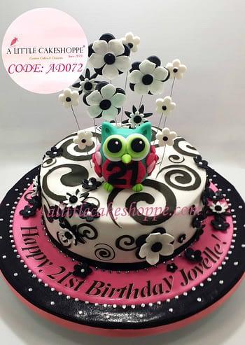 Best Customised Cake Shop Singapore custom cake 2D 3D birthday cake cupcakes desserts wedding corporate events anniversary 1st birthday 21st birthday fondant fresh cream buttercream cakes alittlecakeshoppe a little cake shoppe compliments review singapore bakers SG cake shop cakeshop ah beng who bakes animal owl